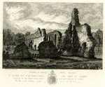 The remains of Sibton Abbey by Henry Davy, 1827