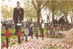 RBL Field of Remembrance at Westminster Abbey 2014