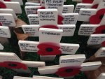 CFHT cross in RBL Field of Remembrance at WA 2014
