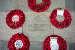 Paving stone and wreaths